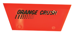 Orange Crush Squeegee Blade – Cropped – 5″