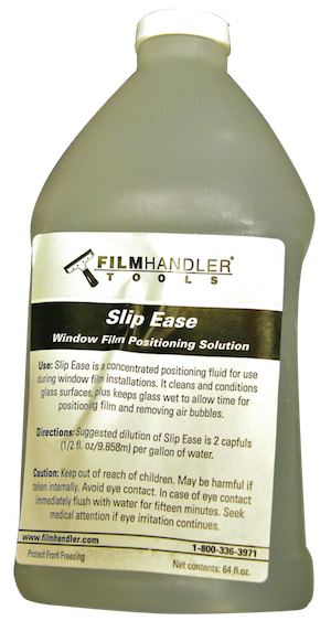 Slip Ease positioning fluid