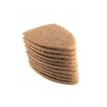 Sorter scrub pads for glass cleaning – Pack of 10